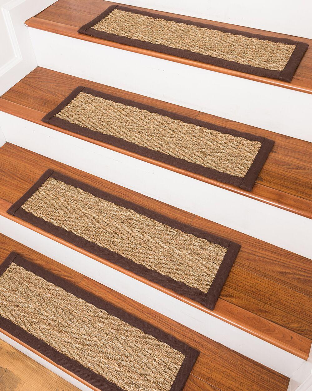 LaKendra Beach Seagrass Beige Stair Treads