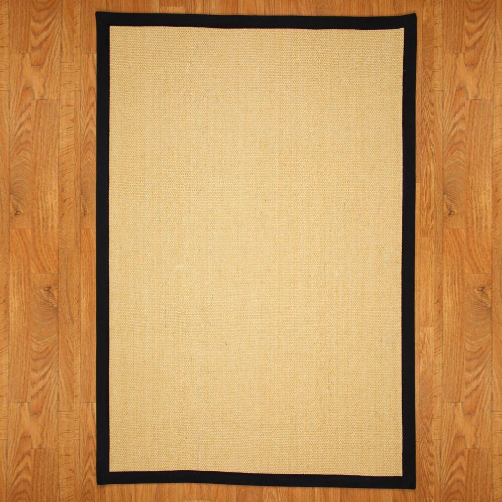 Antolya Sisal Handwoven Area Rug Rug Size: Rectangle 4' x 6'