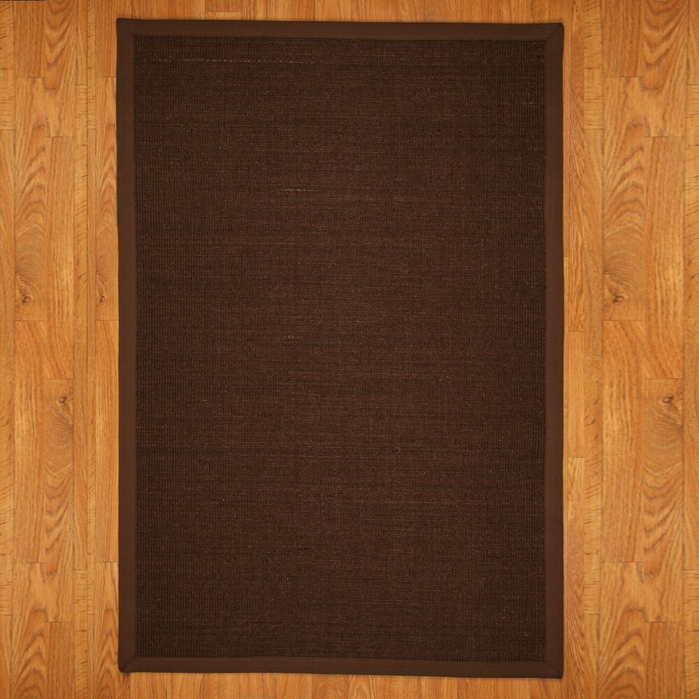 Ankara Sisal Brown Area Rug Rug Size: Rectangle 4' x 6'