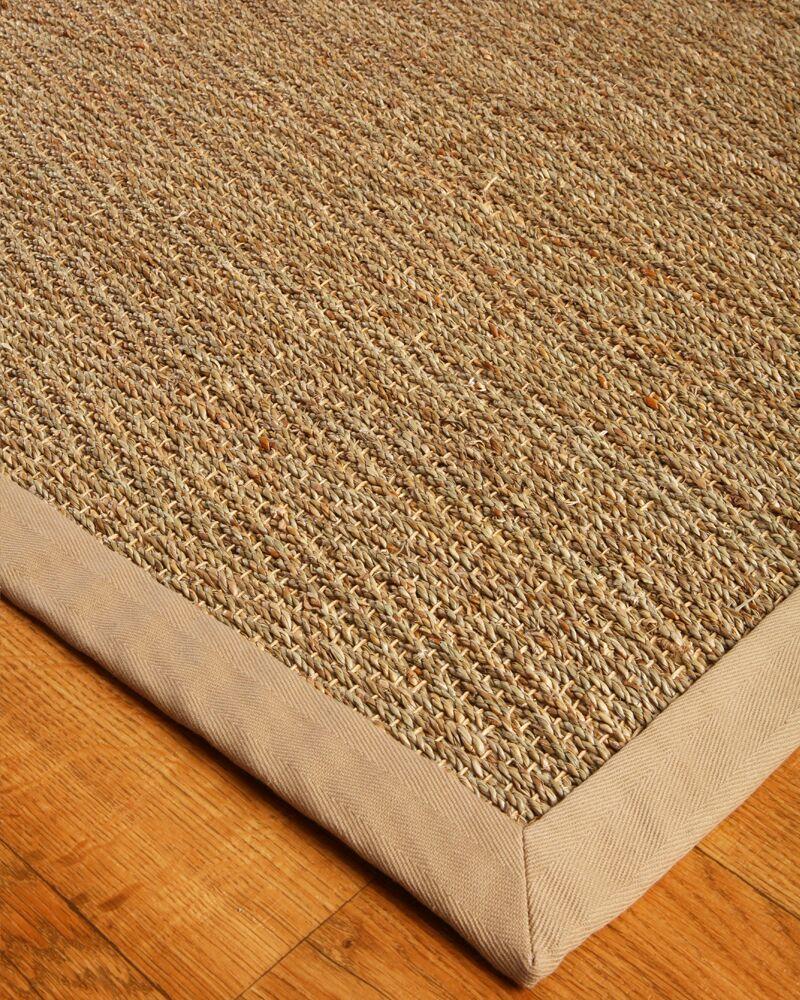 Alland Power Loom Seagrass Tan Indoor Rug Rug Size: Rectangle 9' x 12'