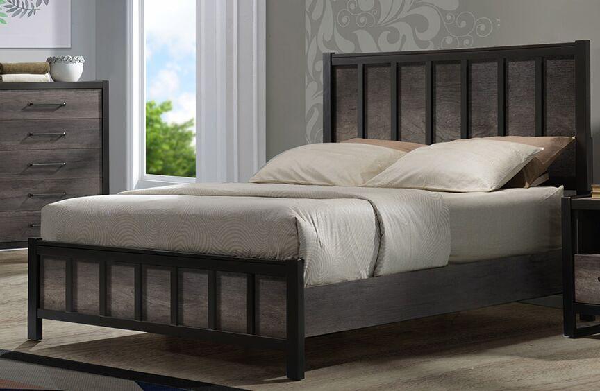 Hakana Panel Bed Size: Queen