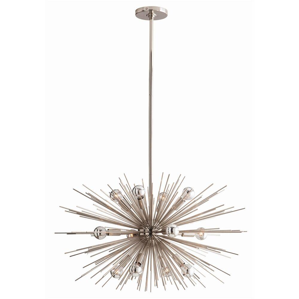 Zanadoo 12-Light Sputnik Chandelier Finish: Polished Nickel