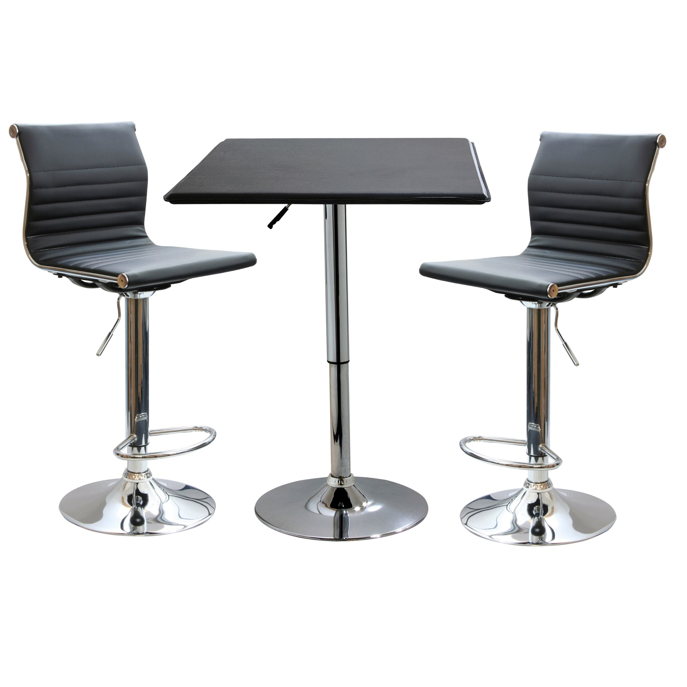 Dining Table Sets Southampton Ii 3 Piece Adjustable Height Pub Table