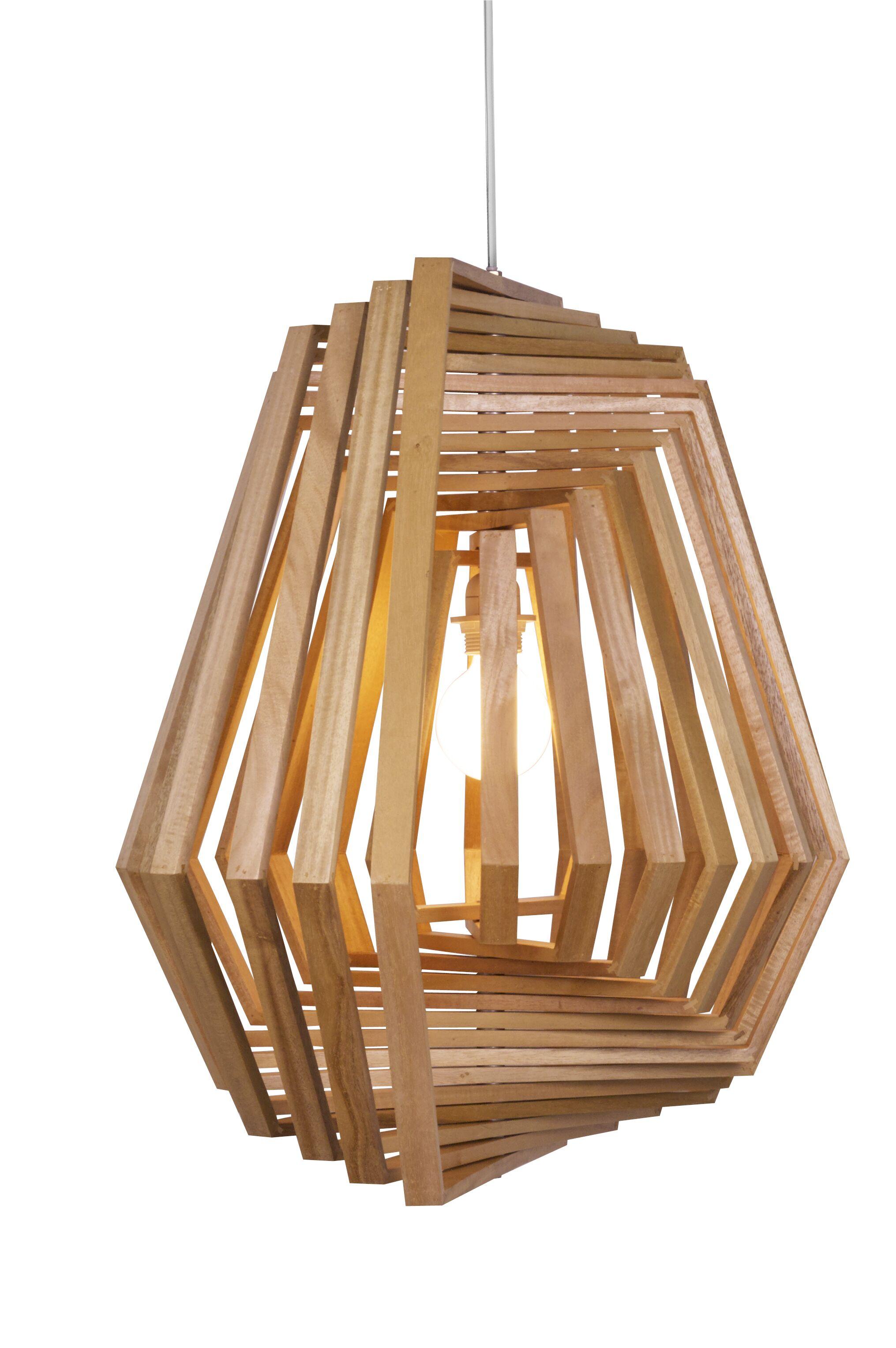 Twist 1-Light Pendant Finish: Satin Nickel