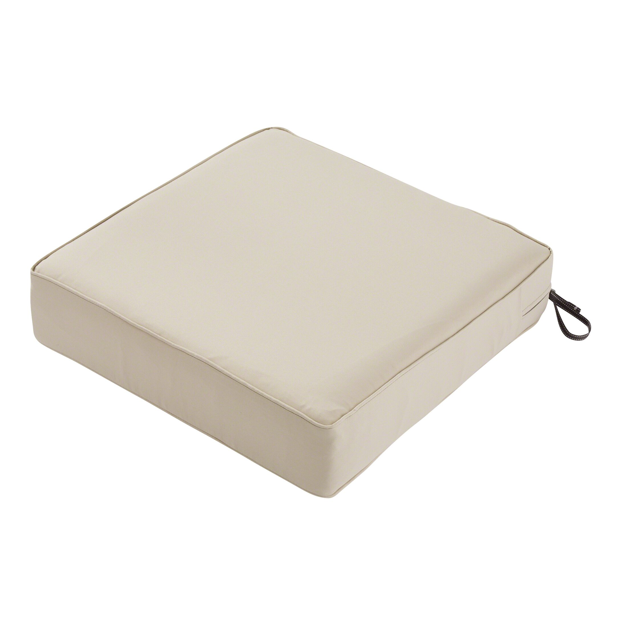 Outdoor Lounge Chair Cushion Size: 5