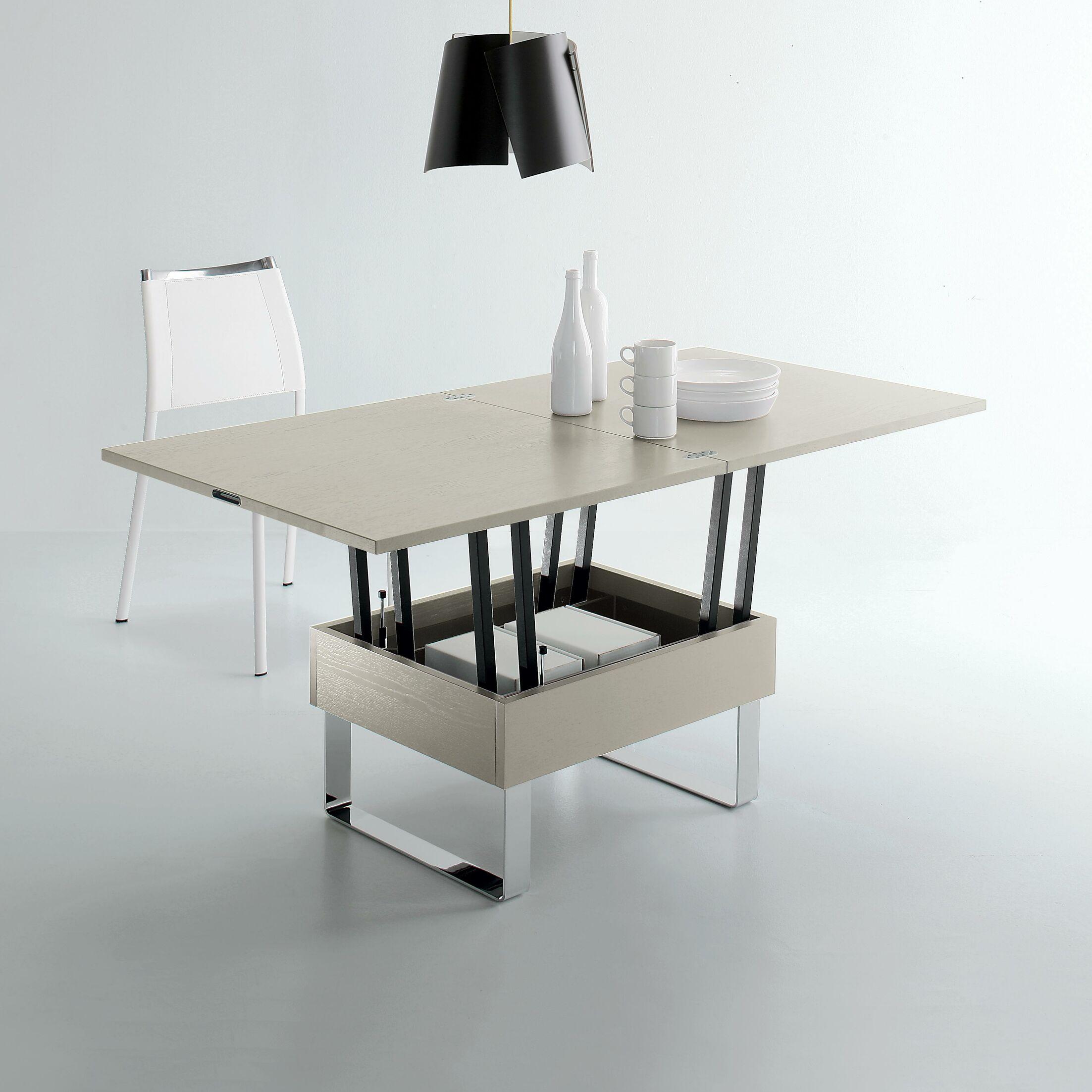Cleo Lift Top Coffee Table Top Color: Oak Wood Veneer