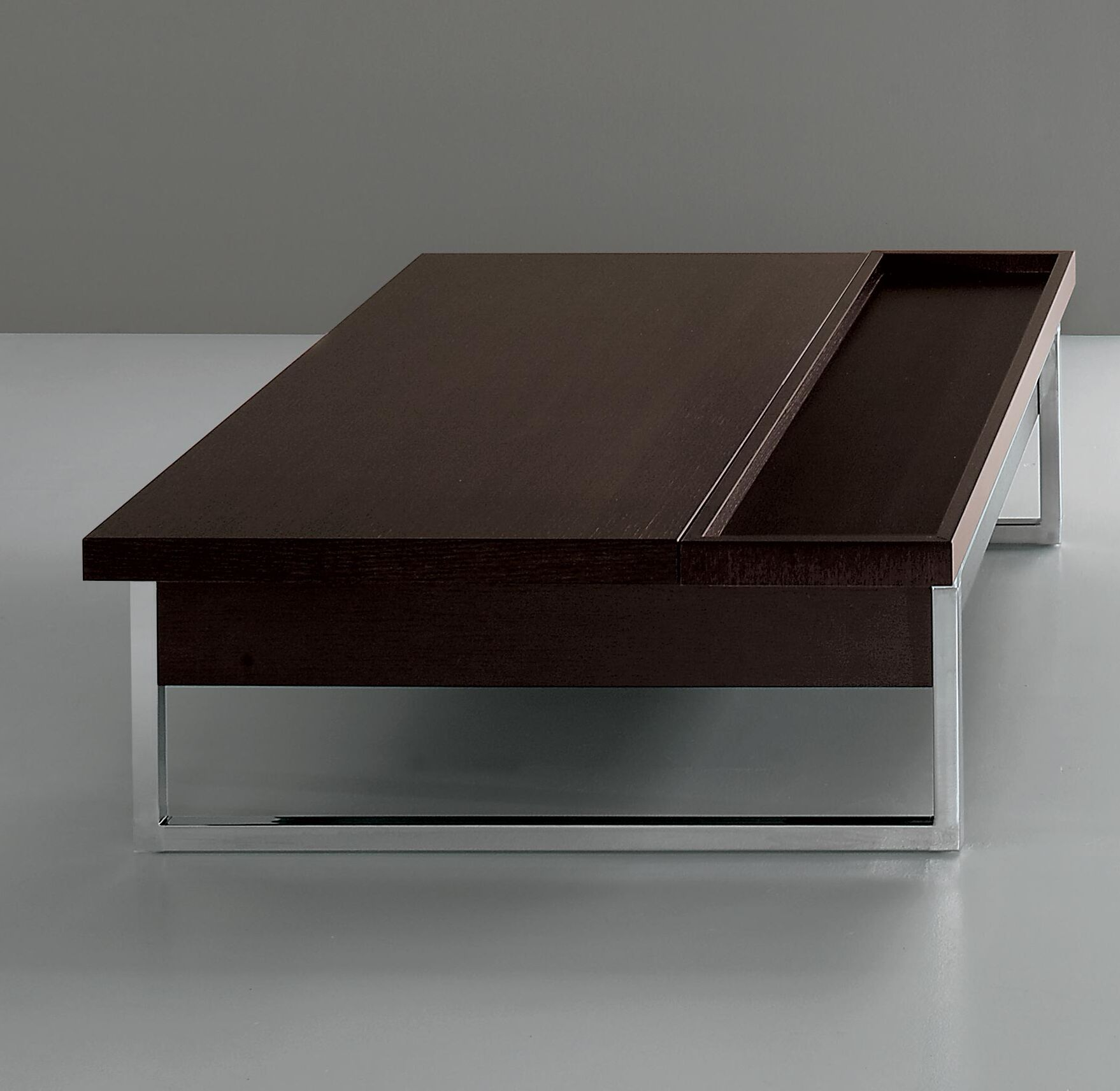 Midtown Lift Top Coffee Table Top Color: Dark Oak