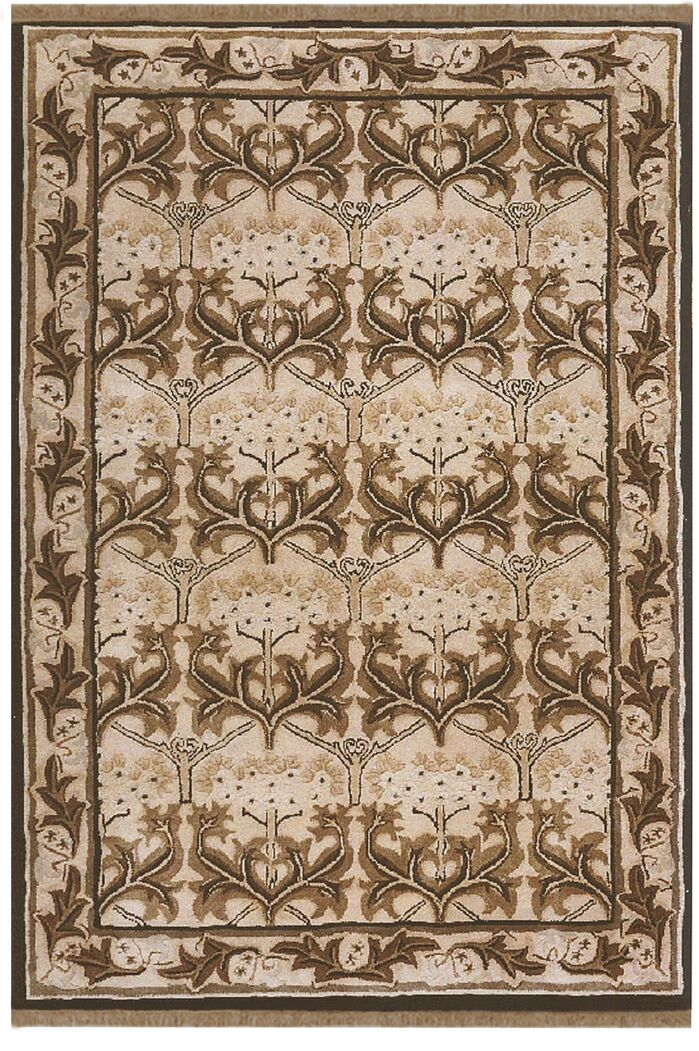 Area Rugs American Home Classic Arts Craft Taupe Black Area Rug