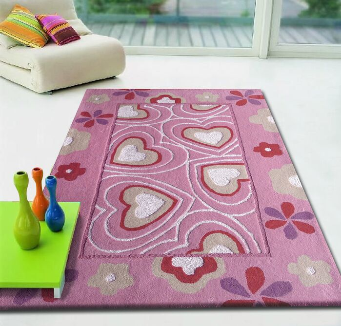 Area Rugs Zoomania Hearts Pink Children S Area Rug February 2019