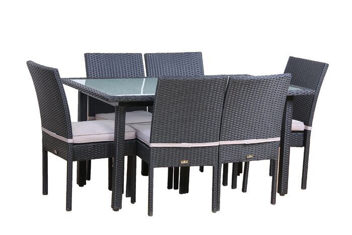 Patio Dining Sets Millsap 7 Piece Outdoor Dining Set With Cushions
