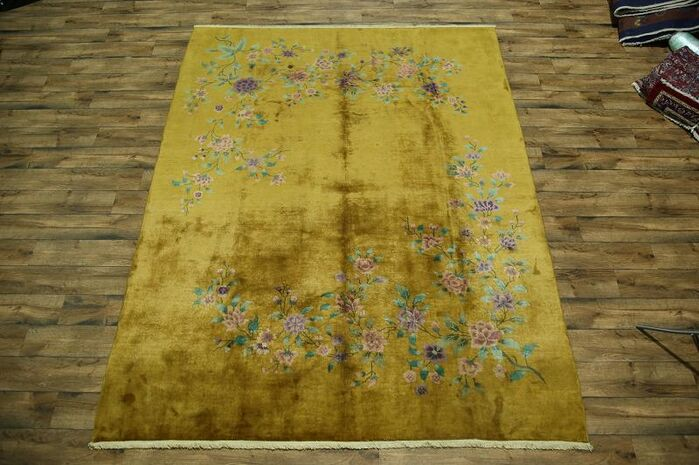 Area Rugs Meadowbrook Art Deco Nichol Chinese Oriental Hand Knotted