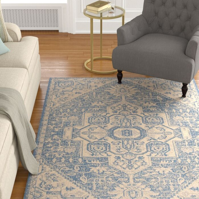 Area Rugs Berardi Creamblue Area Rug June 2019