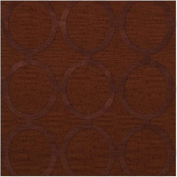 Dover Tufted Wool Paprika Area Rug