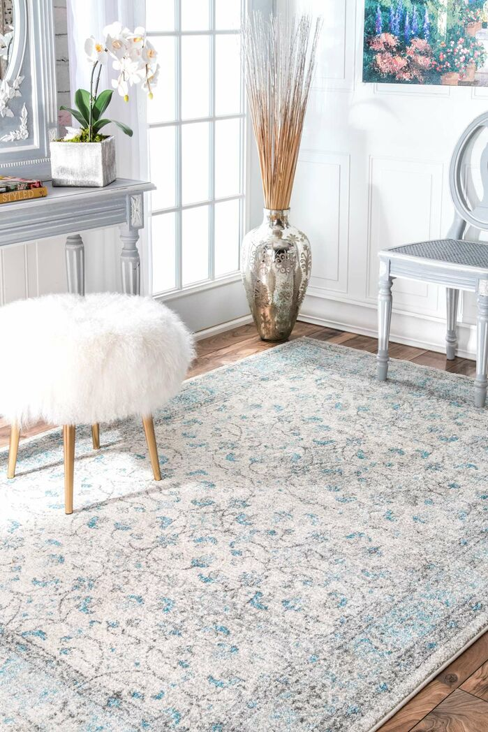 Area Rugs Navarrete Ivory Creamblue Area Rug April 2019