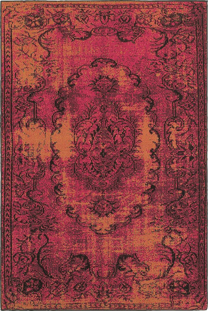 Area Rugs Raiden Pink Orange Area Rug February 2019