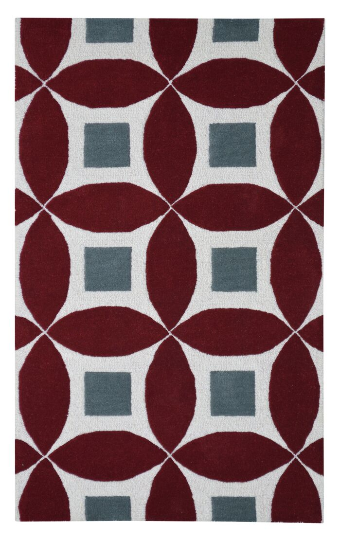 Area Rugs Henley Hand Tufted Burgundygray Area Rug February 2019