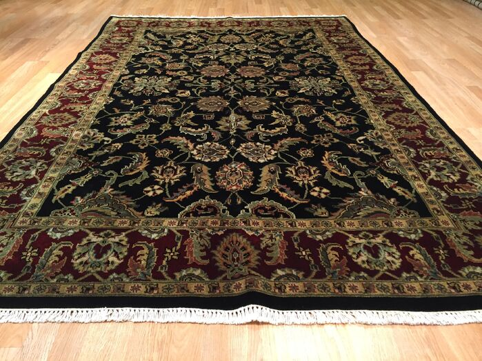 Area Rugs Drumsill Hand Knotted Burgundy Black Area Rug February 2019