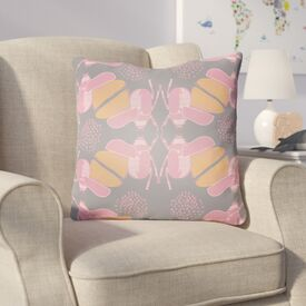 Colindale Square Throw Pillow Size: 20