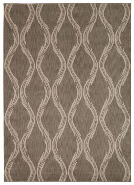 Galsworthy Taupe Area Rug Rug Size: Rectangle 3'9