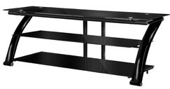 Fold 'N' Snap TV Stand Color: Burl Wood, Width of TV Stand: 23'' H x 52'' W x 21.5'' D