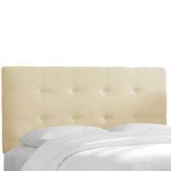Chambers Upholstered Panel Headboard Upholstery: Chalk, Size: Queen