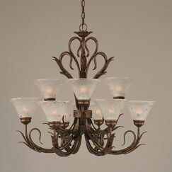 Thomas 9-Light Shaded Chandelier