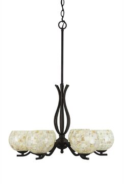 Hiroko 6-Light Shaded Chandelier