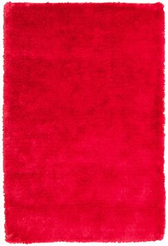 Mirage Red Shag Area Rug Rug Size: 8' x 11'