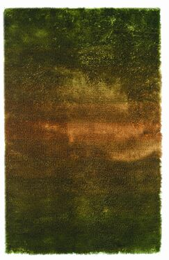 Jewel Green/Rust Rug Rug Size: 5' x 8'