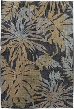 Destinations Destin Onyx Area Rug Rug Size: Rectangle 8' x 11'