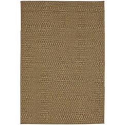 Vega Natural Indoor/Outdoor Area Rug Rug Size: Rectangle 8' x 10'