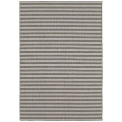 Lenaghan Indoor/Outdoor Silver Area Rug Rug Size: Rectangle 9' x 12'