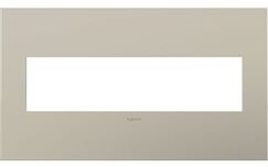 adorne 4-Gang Wall Plate (Set of 4) Finish: Satin Nickel