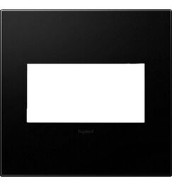 adorne 2-Gang Wall Plate (Set of 4) Finish: Graphite