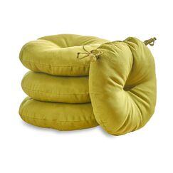 Sarver Indoor/Outdoor Dining Chair Cushion Fabric: Kiwi