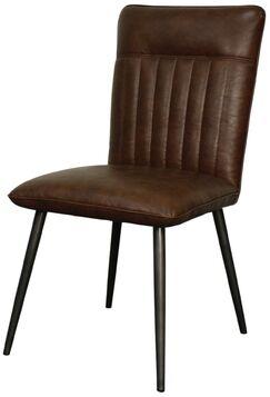 Muldoon Side Chair Color: Marsh Brown