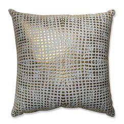 Glamour 100% Cotton Throw Pillow