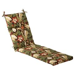Tropical Indoor/Outdoor Chaise Lounge Cushion