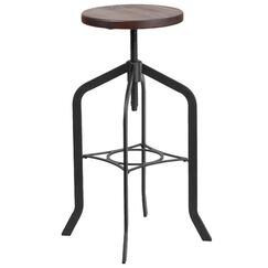 Chrissy Adjustable Height Swivel Bar Stool