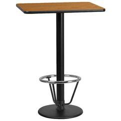 Basnight Laminate Dining Table Size: 43.125