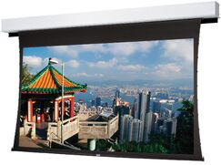 Tensioned Advantage Deluxe Electrol Electric Projection Screen Viewing Area: 72.5