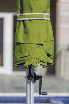 Aurora 9' Square Cantilever Umbrella Color: Pistachio