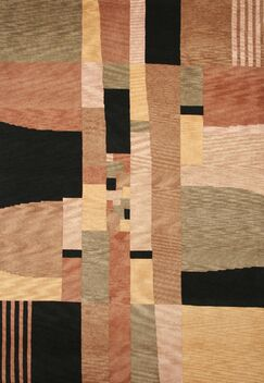 Tango Black/Beige Bubblerary Rug Rug Size: Rectangle 5' x 8'