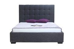 Eddyville Upholstered Storage Platform Bed Color: Charcoal, Size: King