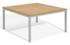 Farmington Square Teak Dining Table Top Color: Natural Tekwood