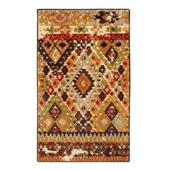 Tribal Council Area Rug Rug Size: Runner 2'6