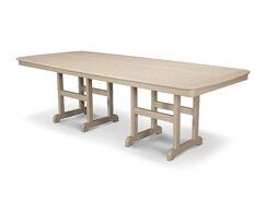 Nautical Dining Table Finish: Sand, Size: 44