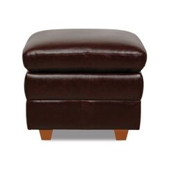 Buco Leather Storage Ottoman Upholstery Color: Brown