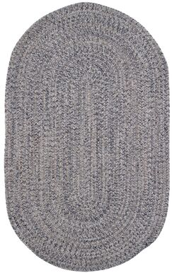 Town Crier Heather Gray Indoor/Outdoor Rug Rug Size: Oval 7'6
