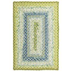 Cotton Braided Seascape Area Rug Rug Size: Rectangle 4' x 6'